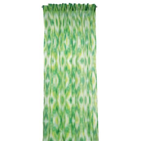 Rideau/Voilage Miami vert Lelievre