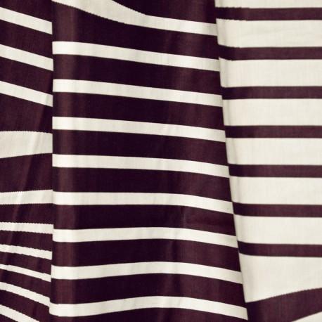 Tissu Illusion graphite Jean Paul Gaultier