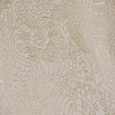 Tissu Skin beige Jean Paul Gaultier