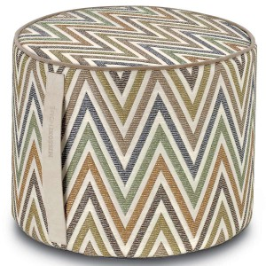 Pouf Nesterov 170 cylindre by Missoni Home