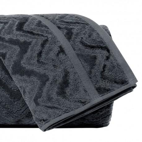 Draps de bain Rex 86 noir, Missoni Home