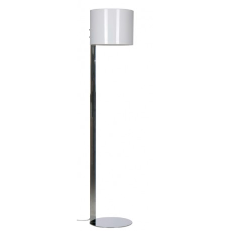 Lampadaire Circle Two blanc