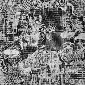 Tissu Vagabond Terre, Jean Paul Gaultier