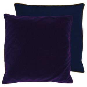 Coussin Piccadilly violet Lelievre