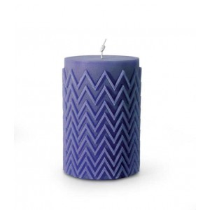 Bougie Chevron Bleu, Missoni Home