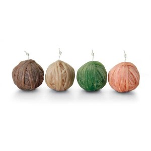 Set de 4 bougies Gomitolo 159, Missoni Home