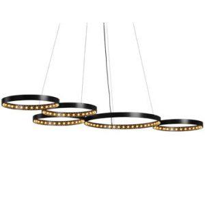 Suspension Super 8 noire, Le Deun Luminaires