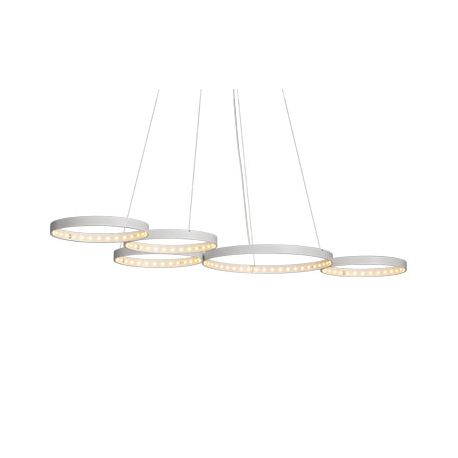 Suspension Super 8 blanche Le Deun Luminaires