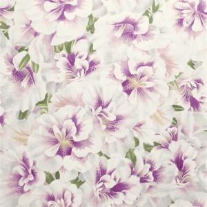 Papier peint Variegated Azalea Violet, John Dorian