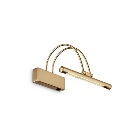Eclairage tableau Bow doré LED, Ideal Lux