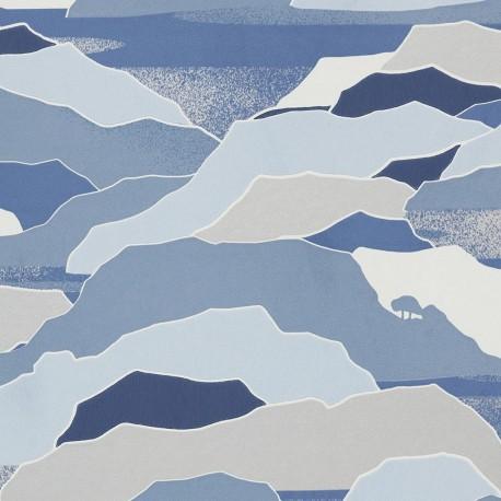 Papier peint Colline bleuté, Lelièvre