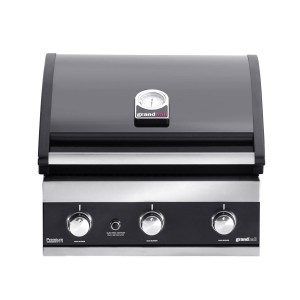 Barbecue encastrable Premium GT3 noir, Grandhall