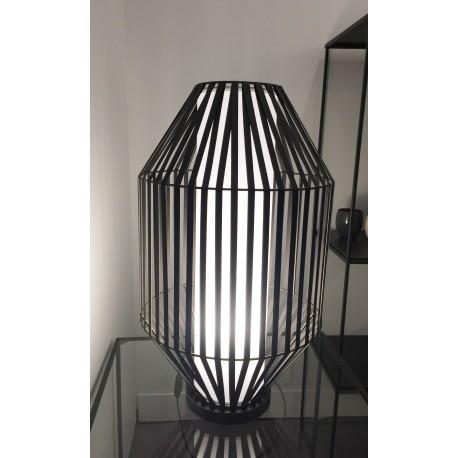 Lampe Rio noire Ø30, Un Autre Regard