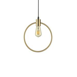 Suspension Abc ronde doré Ideal Lux, Ideal Lux