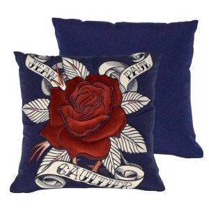Coussin Morphing marine Jean Paul Gaultier