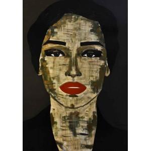 Tiven - Impression du tableau Alona sur Plexiglas