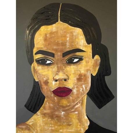 Tiven - Impression du tableau Ana sur Plexiglas