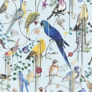 Papier peint Birds Sinfonia source, Christian Lacroix