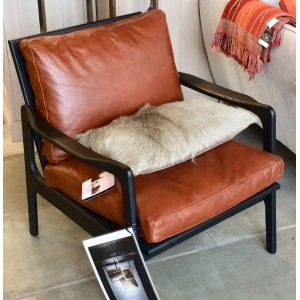 Fauteuil Skandi cuir, PH Collection
