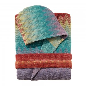 Peignoir capuche Yaco, Missoni Home