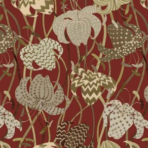 Papier peint Lilium Red, Missoni Home
