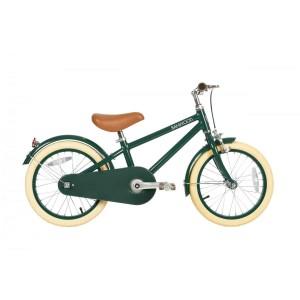 Vélo de luxe enfant vintage 4-7 ans 16' vert Banwood