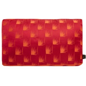 Coussin rectangulaire Kaede rouge K3 by Kenzo Takada 35x20x5cm