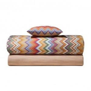 Housse de couette Andres 159 Missoni Home en coton motif zigzag