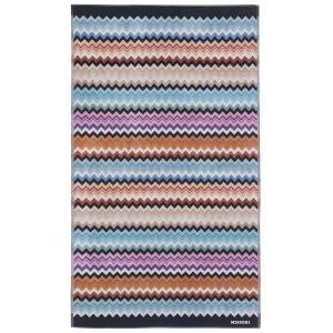 Drap de plage Adam 160 Missoni Home multicolore en coton motif zigzag