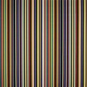 Velours Arc En Ciel Prisme fines rayures multicolore Christian Lacroix