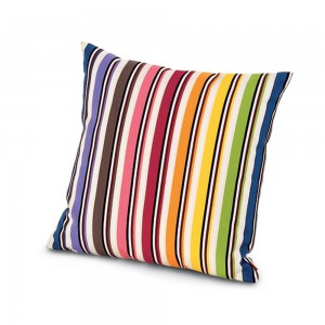 Coussin Rainbow T16 carré, Missoni Home
