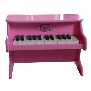 Petit piano rose, Protocol