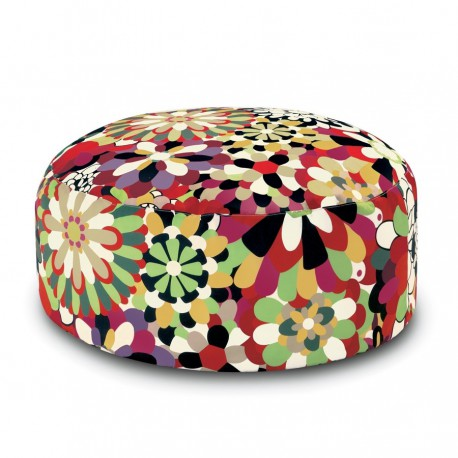 Pouf Vevey Pallina rouge by Missoni Home